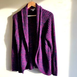 Rockmans long sleeve cardigan cable knit